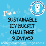 I'm a Polar Bear Plunge Sustainable icy Bucket Challenge survivor
